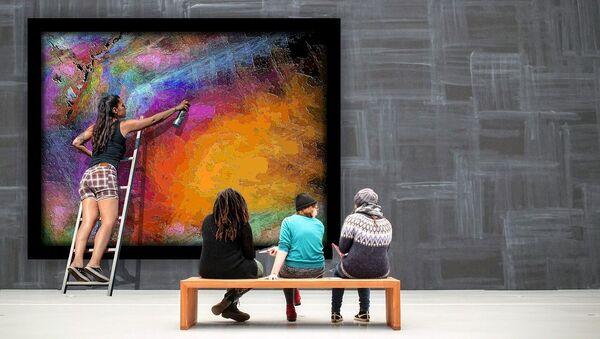 Arte contemporáneo, imagen ilustrativa - Sputnik Mundo