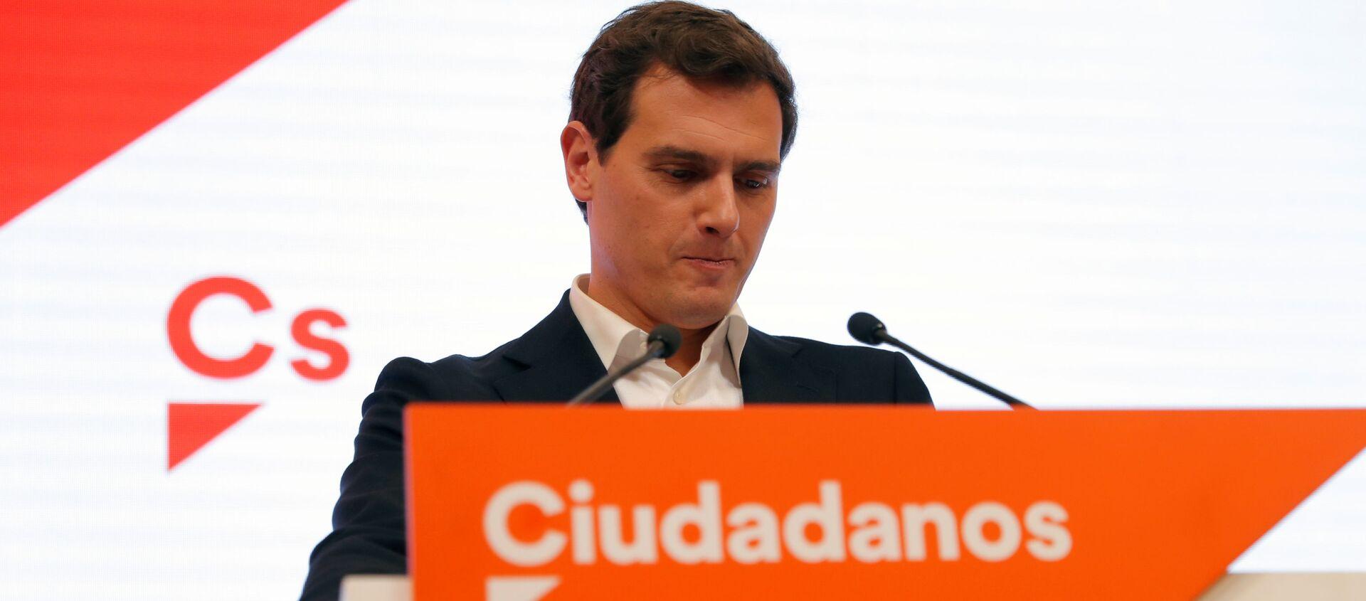 Albert Rivera, exlíder del partido político español Ciudadanos - Sputnik Mundo, 1920, 11.11.2019