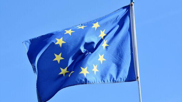 La bandera de la UE (imagen referencial) - Sputnik Mundo
