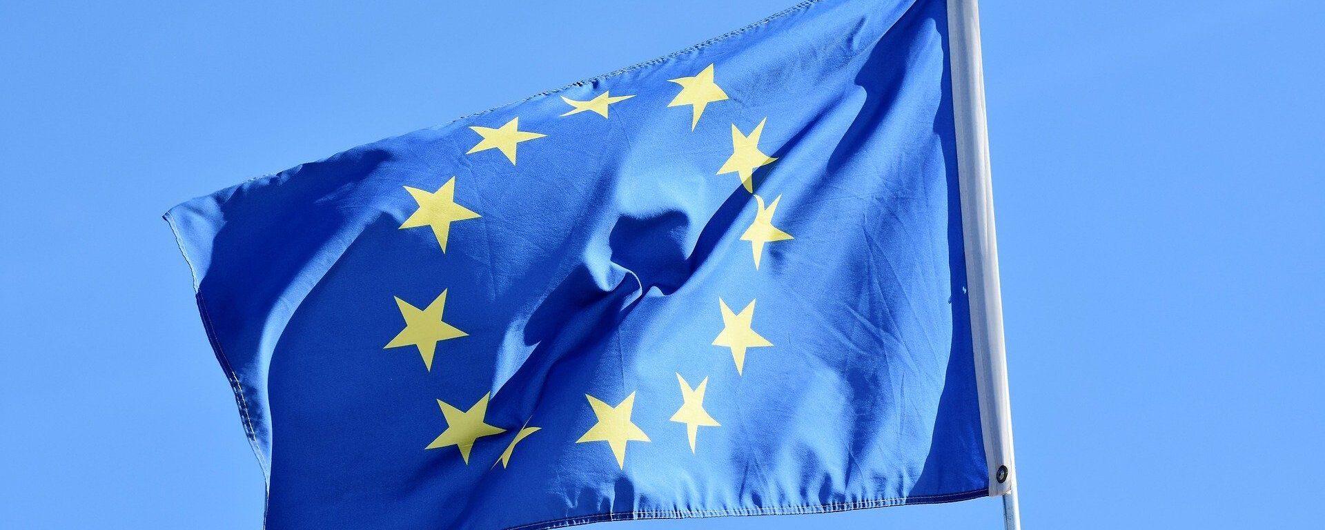 La bandera de la UE (imagen referencial) - Sputnik Mundo, 1920, 26.04.2021