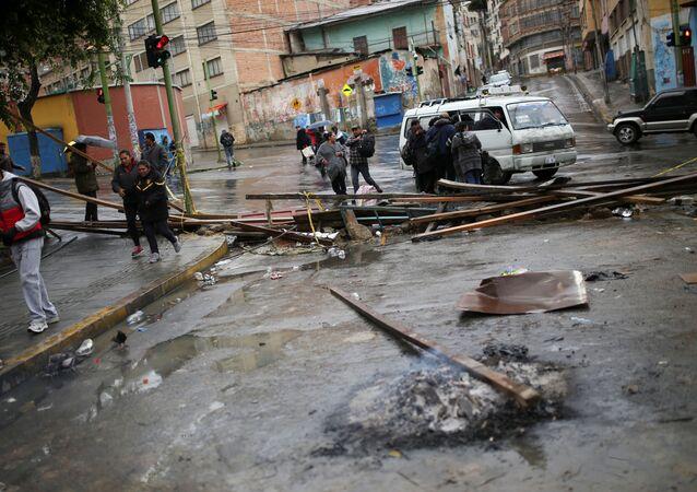 La situación en La Paz tras las protestas