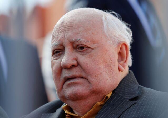 El expresidente soviético Mijaíl Gorbachov
