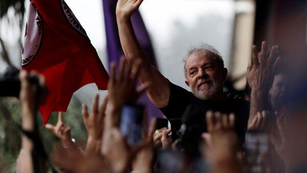 Luiz Inácio Lula da Silva, el expresidente brasileño  - Sputnik Mundo