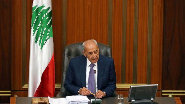 Nabih Berri, presidente del Parlamento libanés - Sputnik Mundo