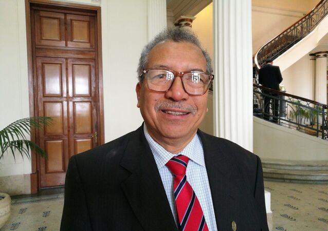 El diputado venezolano e integrante del Parlasur Saúl Ortega