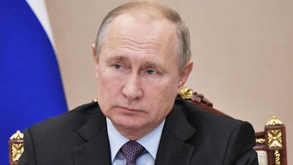 Vladímir Putin, el presidente de Rusia (archivo) - Sputnik Mundo