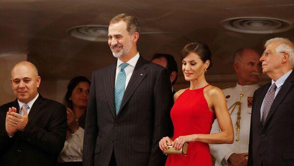 Los reyes de España, Felipe VI y Letizia en Cuba - Sputnik Mundo