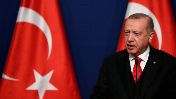 Recep Tayyip Erdogan, el presidente de Turquía - Sputnik Mundo