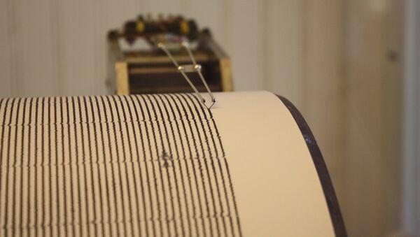 Sismógrafo (imagen ilustrativa) - Sputnik Mundo