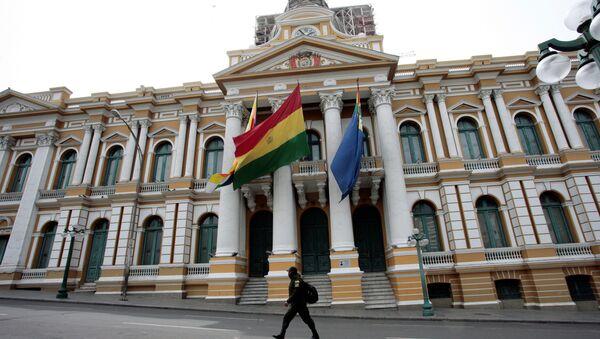 Asamblea Plurinacional (parlamento) de Bolivia - Sputnik Mundo