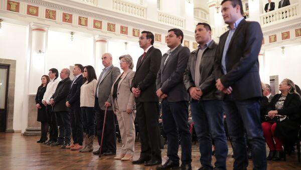 Nuevos ministros de Bolivia - Sputnik Mundo