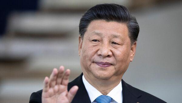 Xi Jinping, el presidente de China - Sputnik Mundo
