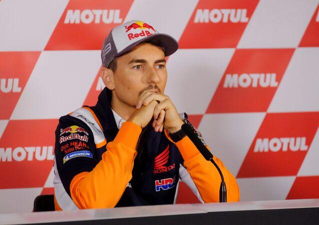 Jorge Lorenzo, el piloto de motos español
