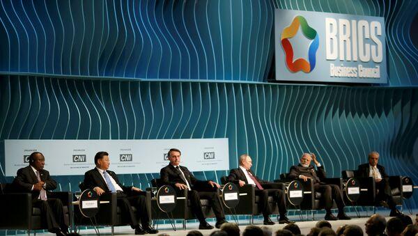 La Cumbre de BRICS en Brasilia  - Sputnik Mundo