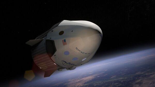 La aeronave Dragon de SpaceX - Sputnik Mundo