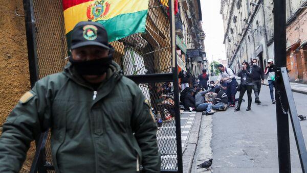 Fuerzas represivas de Bolivia  - Sputnik Mundo