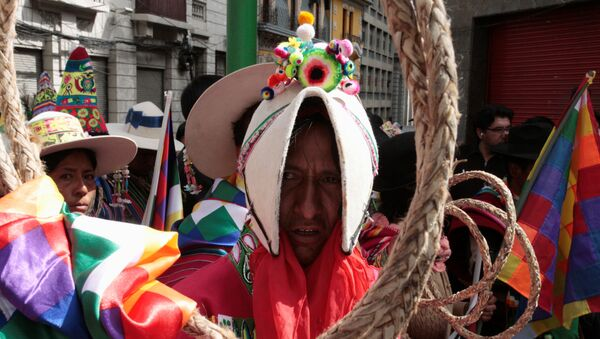 Los indígenas de Bolivia - Sputnik Mundo