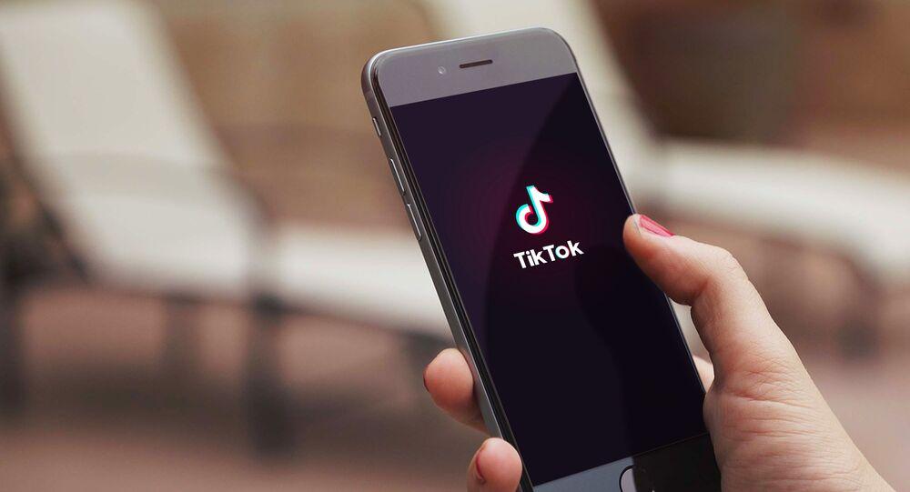 La aplicación china TikTok