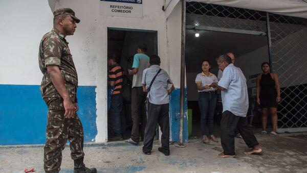 Refugiados venezolanos en Manaos, Brasil - Sputnik Mundo