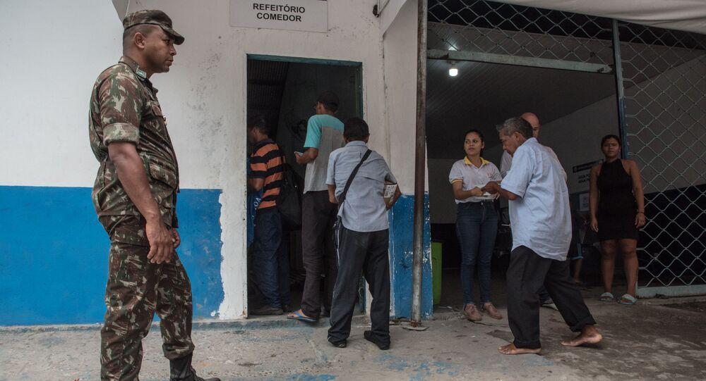 Refugiados venezolanos en Brasil (archivo)
