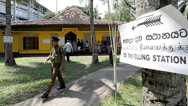 Elecciones presidenciales en Sri Lanka - Sputnik Mundo