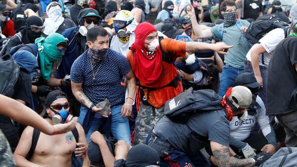 Protestas en Chile (archivo) - Sputnik Mundo