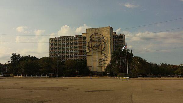 Sede del Ministerio del Interior y Plaza de la Revolución en La Habana, Cuba - Sputnik Mundo