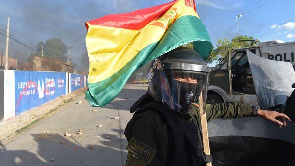 Disturbios en Bolivia - Sputnik Mundo