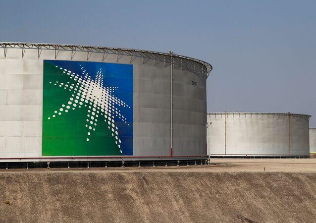 Una instalación de Saudi Aramco