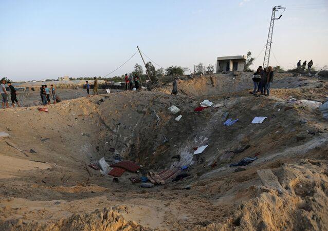 La situación en la Franja de Gaza