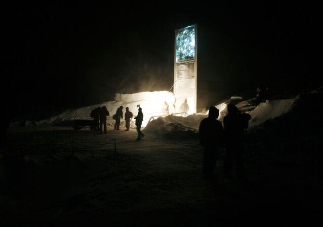 La cueva de Svalbard conocida como 'bóveda del fin del mundo'