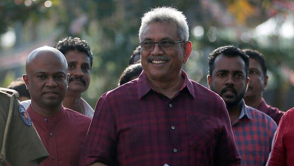 Gotabaya Rajapaksa, presidente electo de Sri Lanka - Sputnik Mundo