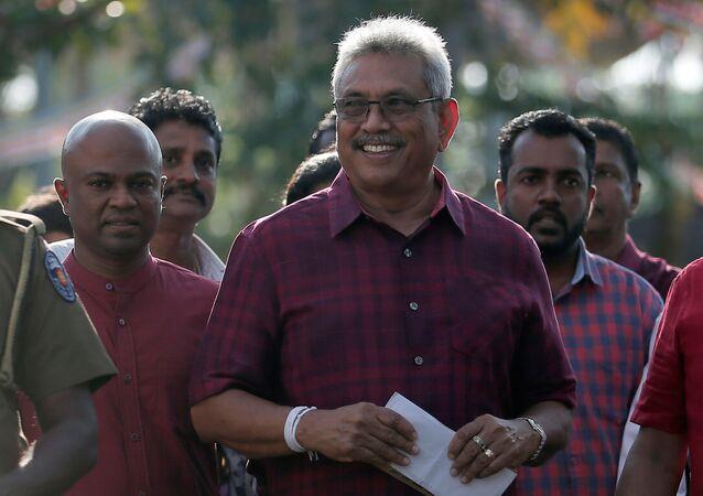 Gotabaya Rajapaksa, presidente electo de Sri Lanka