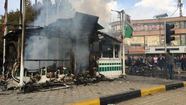 Consecuencias de las protestas en Irán - Sputnik Mundo