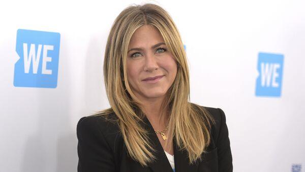 La actriz estadounidense Jennifer Aniston - Sputnik Mundo