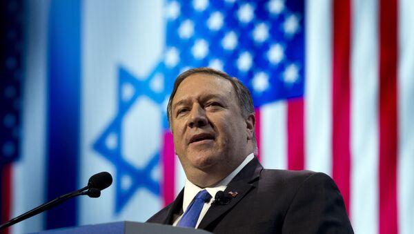 Mike Pompeo, secretario de Estado de EEUU - Sputnik Mundo