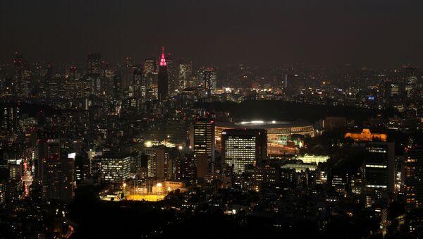 Una vista del estadio olímpico en Tokio - Sputnik Mundo