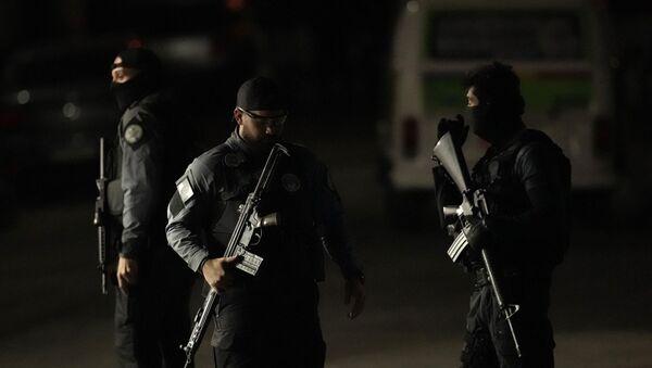 La Policía de Río de Janeiro (imagen referencial) - Sputnik Mundo