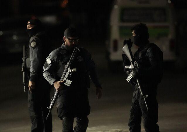 La Policía de Río de Janeiro (imagen referencial)