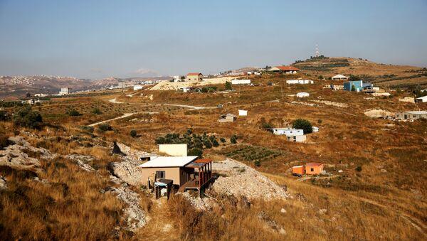 Asentamientos judíos en Cisjordania - Sputnik Mundo