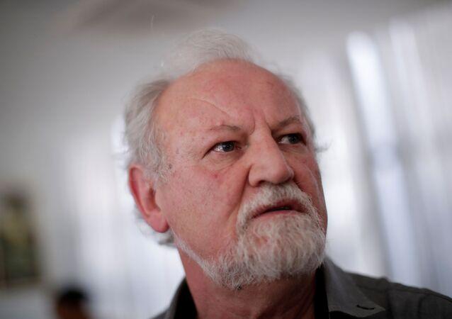 João Pedro Stédile, líder del Movimiento de los Trabajadores Rurales Sin Tierra (MST) de Brasil