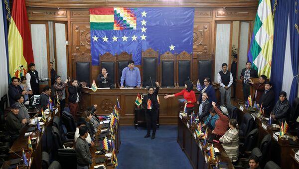Parlamento de Bolivia - Sputnik Mundo