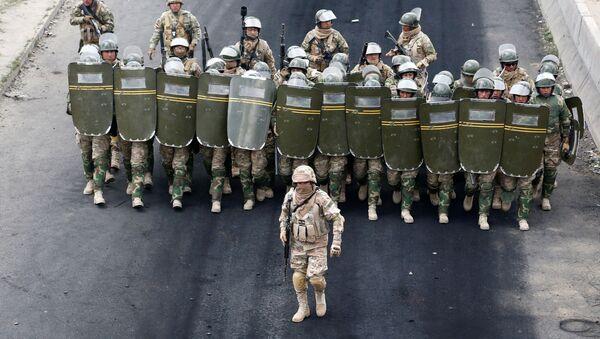 Fuerzas de seguridad de Bolivia - Sputnik Mundo