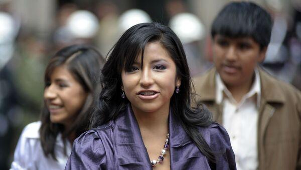 Evaliz Morales, hija de Evo Morales - Sputnik Mundo