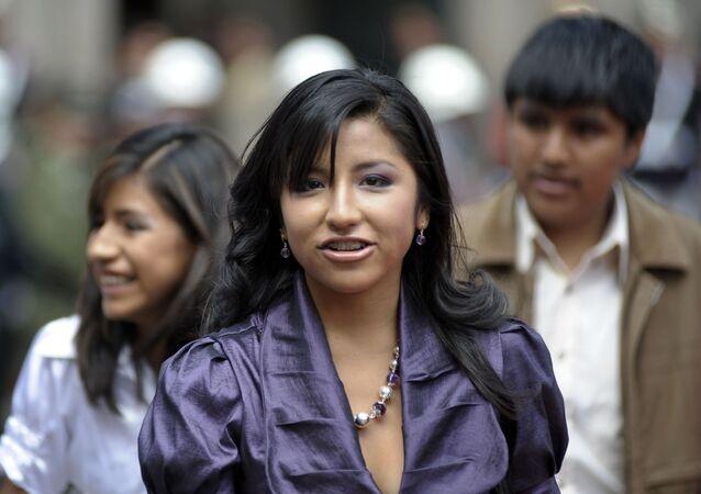 Evaliz Morales, hija de Evo Morales