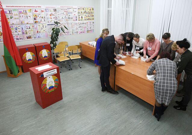 Las elecciones en Bielorrusia (archivo)