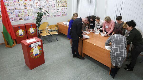 Las elecciones parlamentarias de Bielorrusia  - Sputnik Mundo