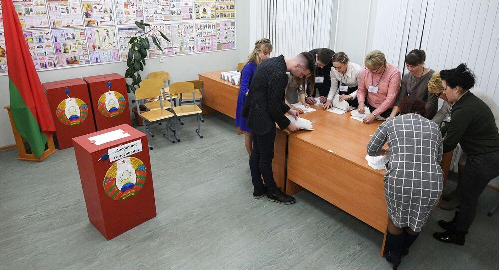 Las elecciones parlamentarias de Bielorrusia