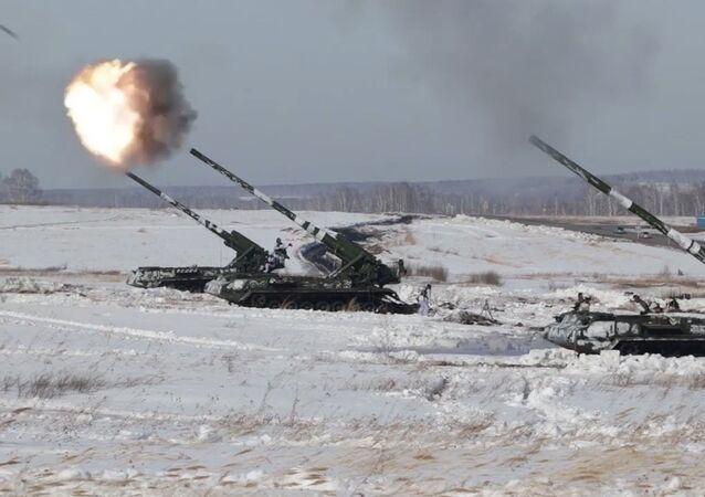 Artillería nuclear: muestran en acción el cañón autopropulsado ruso Malka