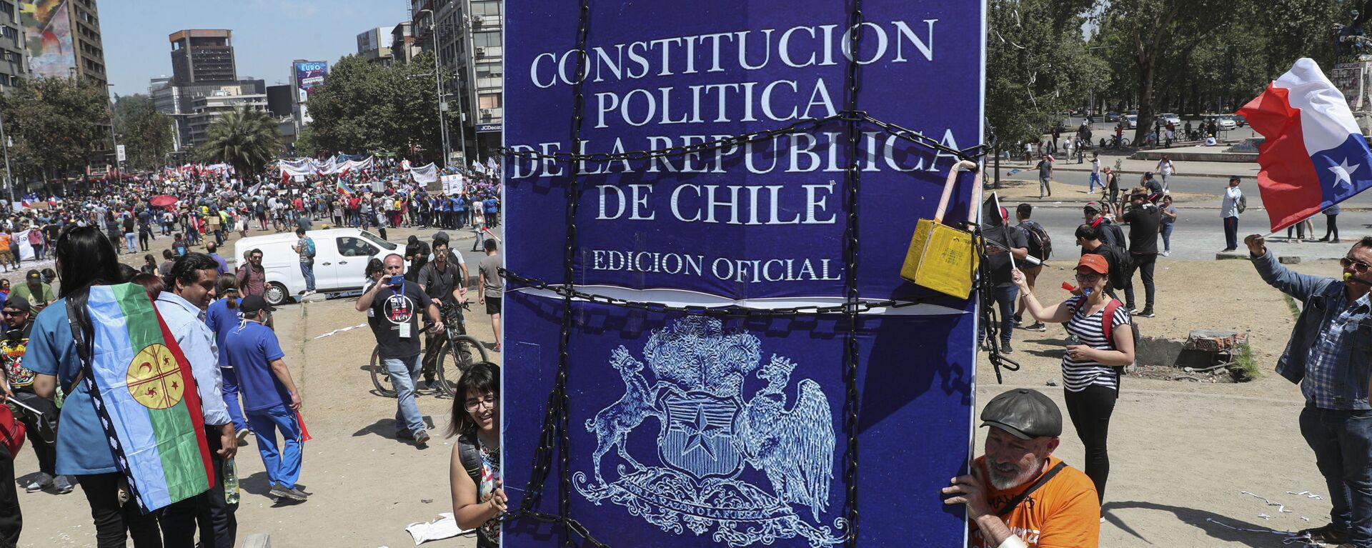 La Constitución de Chile - Sputnik Mundo, 1920, 14.05.2021